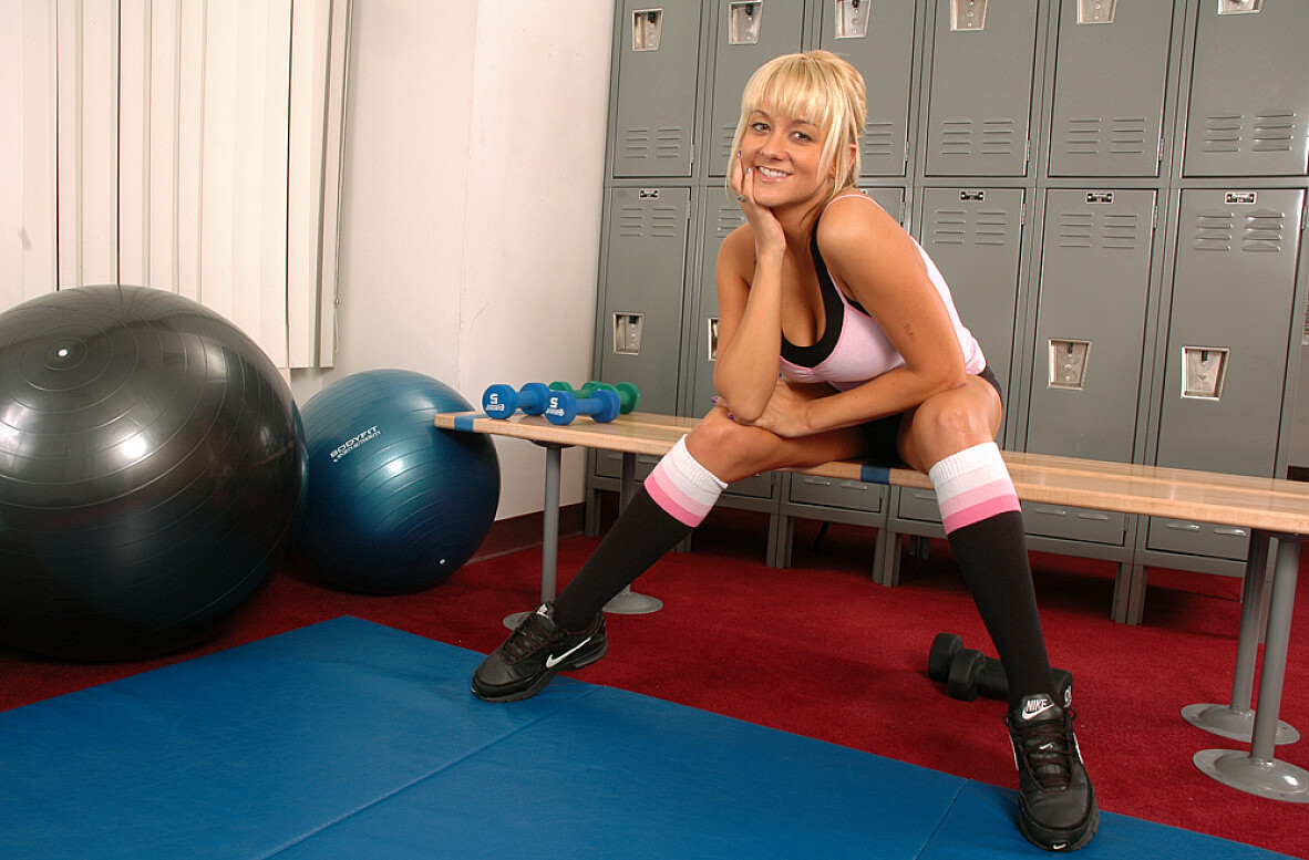Watch Briana Blair video in Live Gym Cam