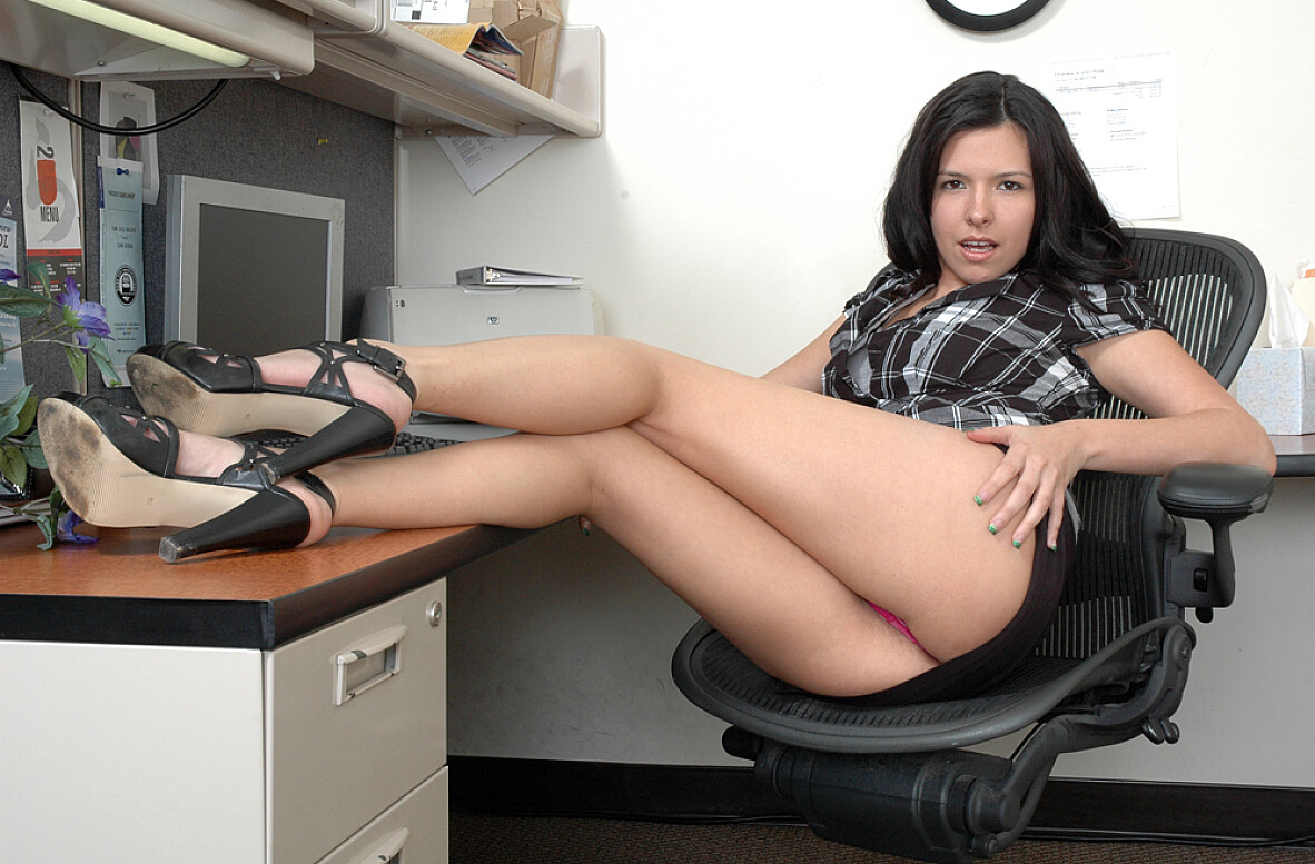 Watch Danica Dillon video in Live Naughty Secretary