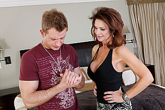 Cougar Deauxma fucking in the bedroom with her big ass - Sex Position 1