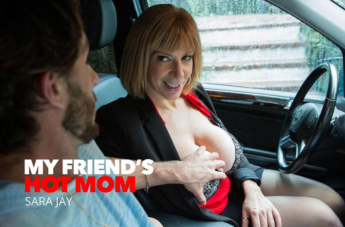 Watch Sara Jay and Lucas Frost 4K American video in My Friend's Hot Mom