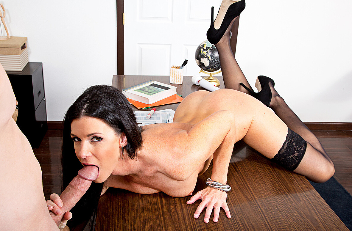 Watch India Summer and Brad Knight 4K video in My First Sex Teacher