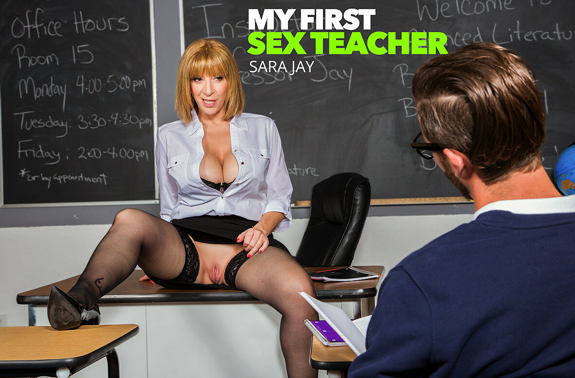 Watch Sara Jay and Lucas Frost 4K video in My First Sex Teacher