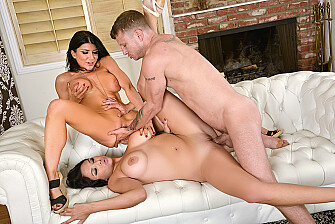 Missy Martinez - Missy Martinez fucking in the couch with her big tits picture 4