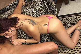 Brunette Dulce fucking in the bedroom with her big ass - Sex Position 2