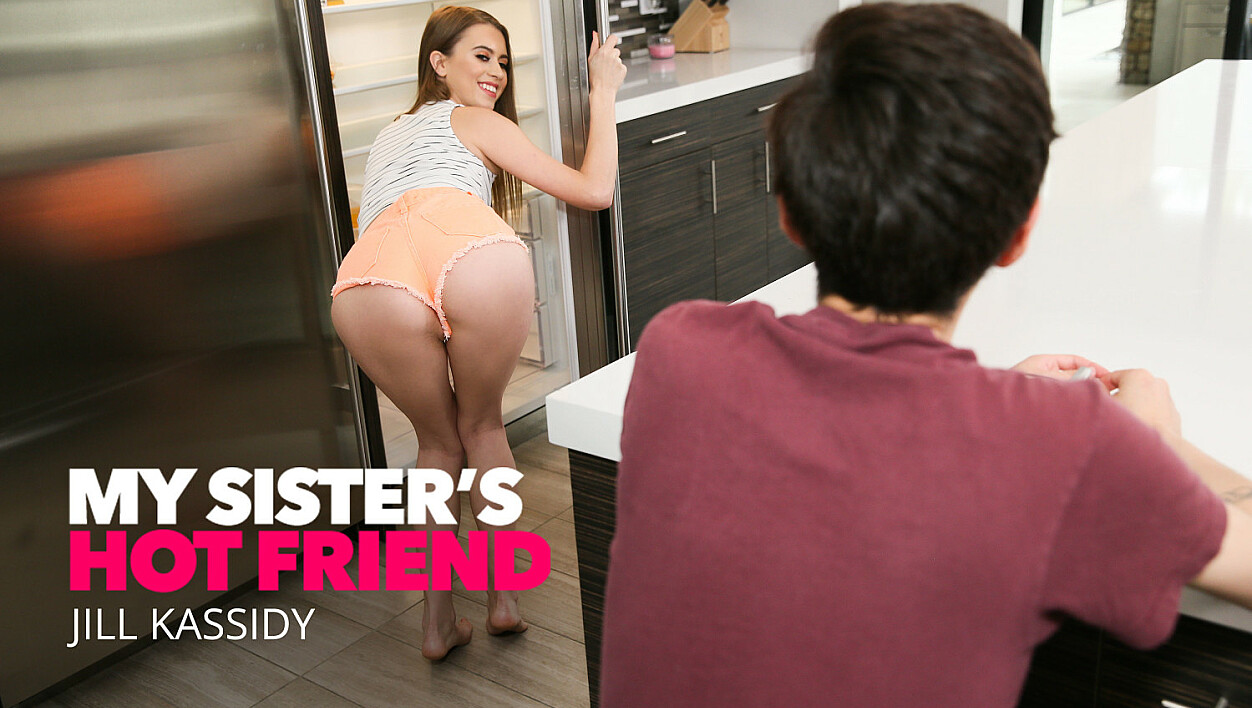 Surprise in the shower as Jill Kassidy fucks her best friend's brother