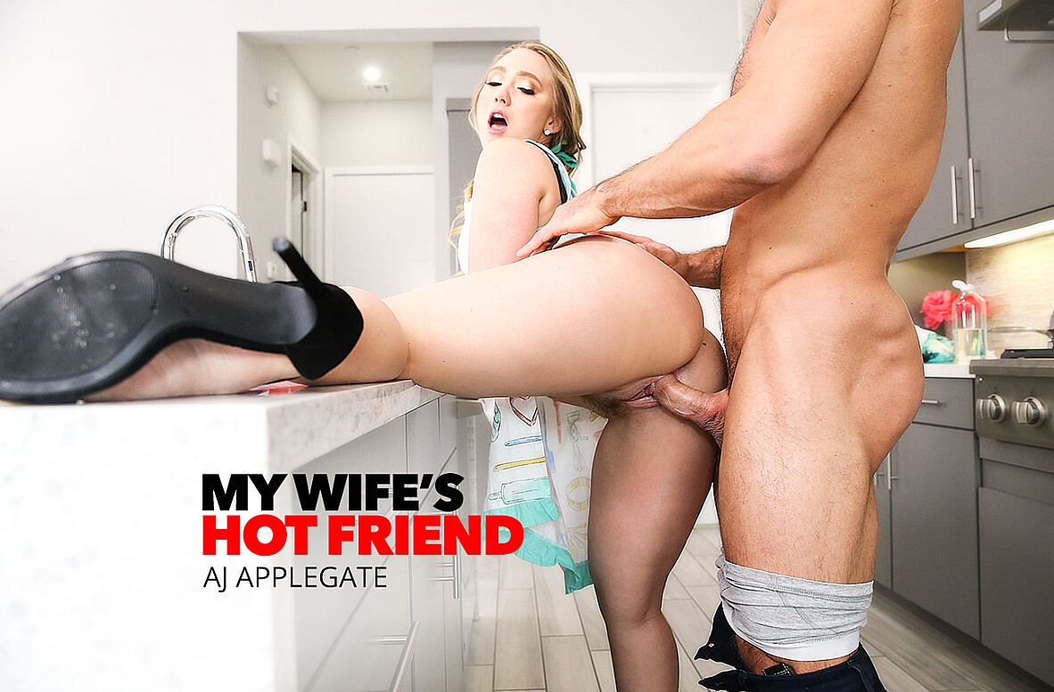 Watch AJ Applegate and Johnny Castle 4K video in My Wife's Hot Friend