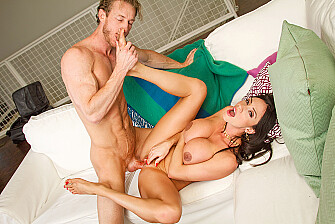 Ariella Ferrera fucking in the loft with her hairy pussy - Sex Position 3