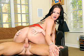Tory Lane fucking in the couch with her piercings - Sex Position 3