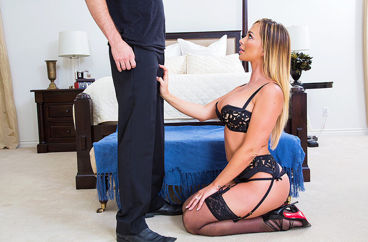 Watch Destiny Dixon and Brad Knight 4K video in My Wife Is My Pornstar