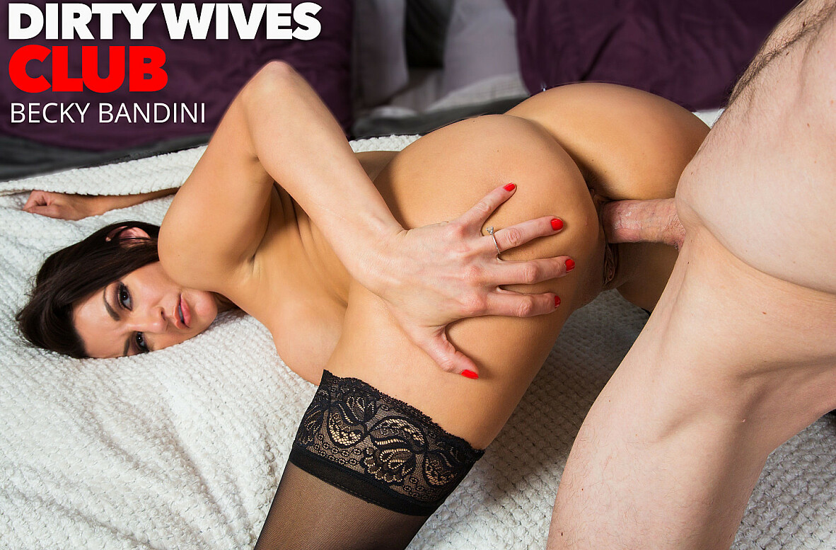 Watch Becky Bandini and Ryan Mclane 4K video in Dirty Wives Club
