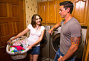 Nickey Huntsman & Ryan Driller in Neighbor Affair