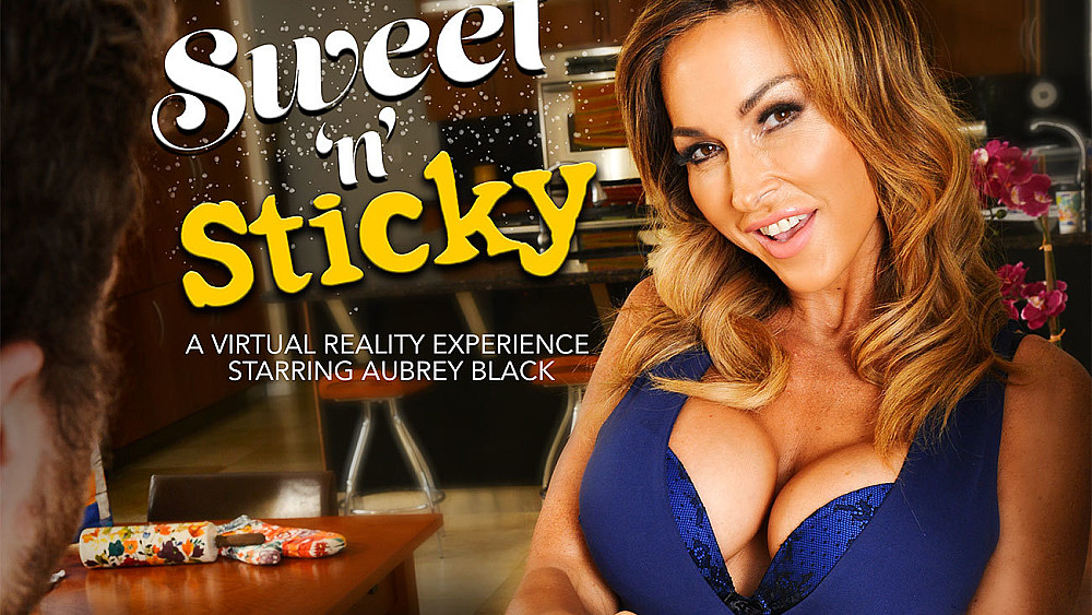 Click here to play Aubrey Black fucking in the kitchen with her tits vr porn VR porn