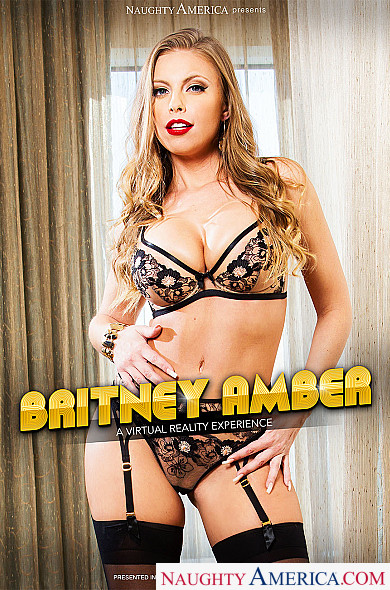 Watch Britney Amber enjoy some American and Big Ass!
