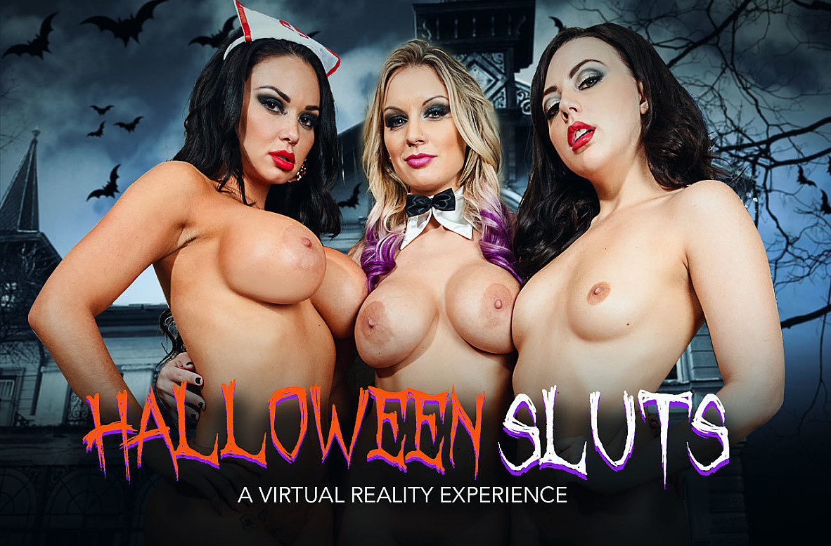 Watch Brooke Beretta, Kenzie Taylor, Whitney Wright and Bambino VR video in Naughty America