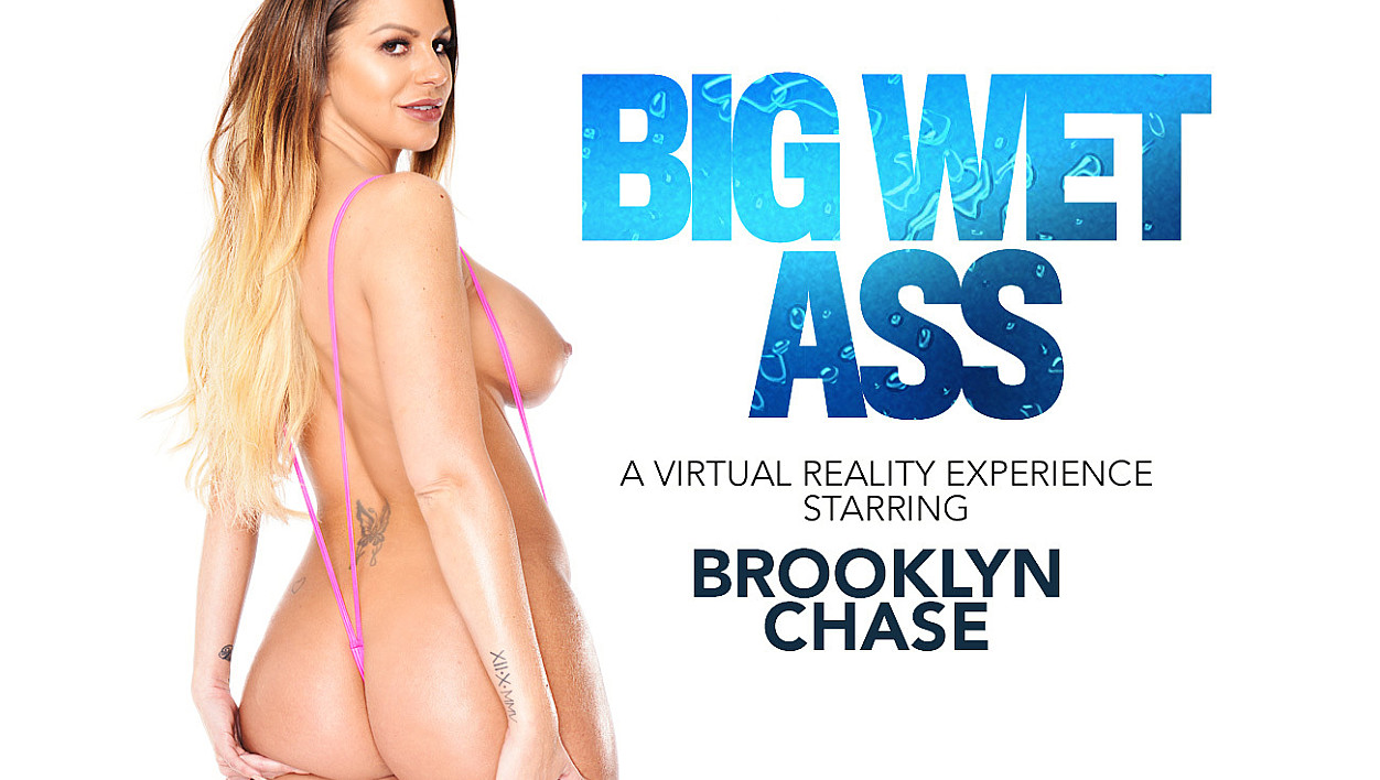 Brooklyn Chase Gives a show and fucks you in VR