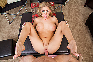 Jessa Rhodes fucking in the couch with her big tits - Sex Position 4