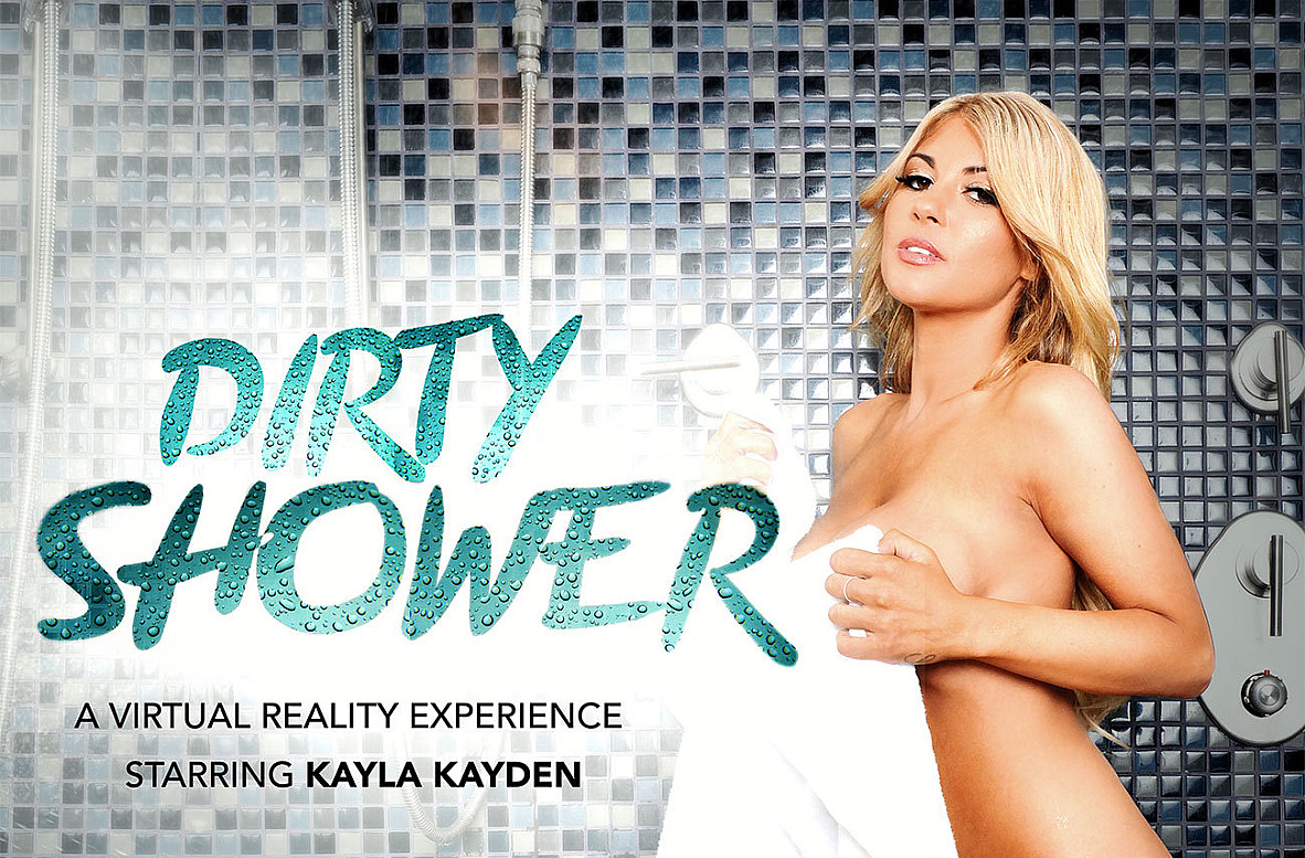 Watch Kayla Kayden and Damon Dice VR video in Naughty America