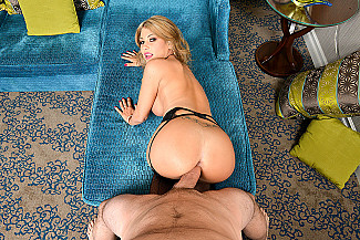 Kayla Kayden fucking in the chair with her lingerie vr porn - Sex Position 4