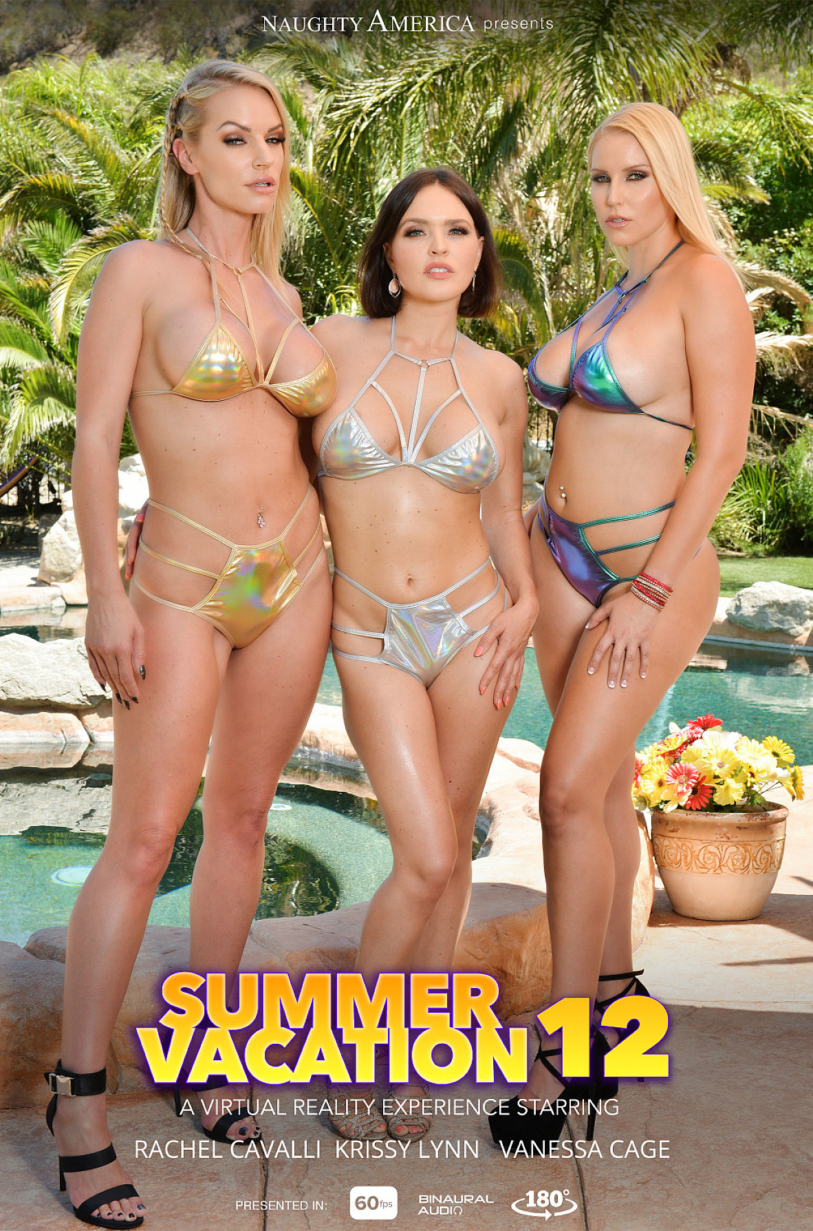 Watch Krissy Lynn, Rachael Cavalli, Vanessa Cage and Justin Hunt VR video in Naughty America