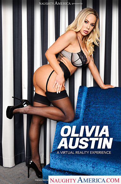 Watch Olivia Austin enjoy some American and Ass smacking!