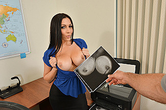 Rachel Starr fucking in the chair with her big tits vr porn - Sex Position 1
