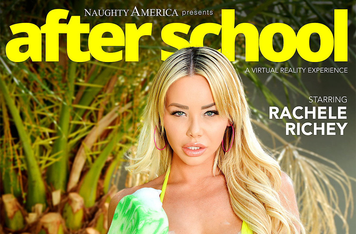Watch Rachele Richey and Justin Hunt VR video in Naughty America