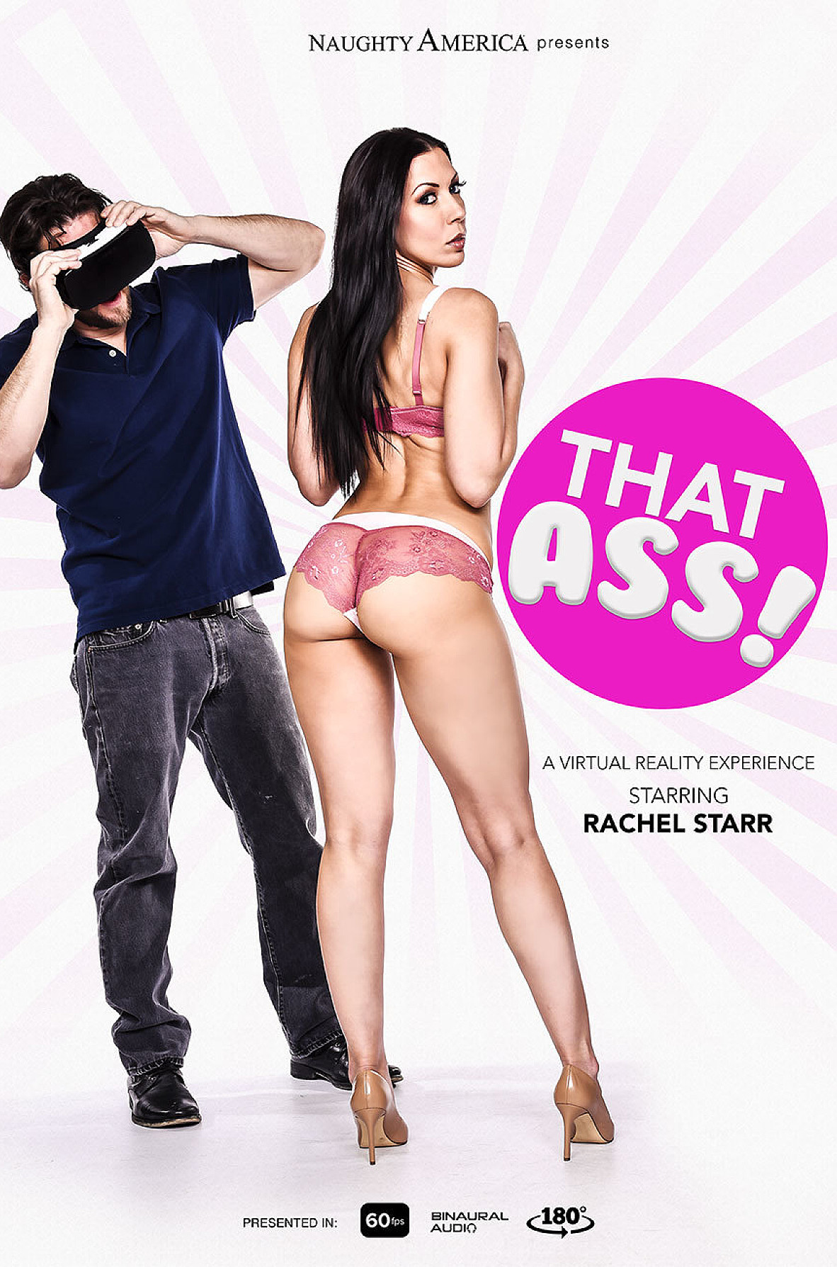 Watch Rachel Starr and Preston Parker VR video in Naughty America