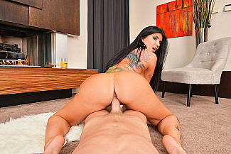 Romi Rain fucking in the den with her tits vr porn - Sex Position 4