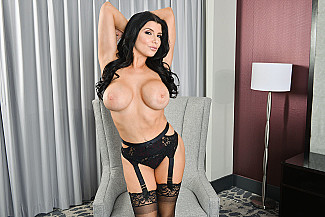 Romi Rain fucking in the hotel with her big tits vr porn - Sex Position 1