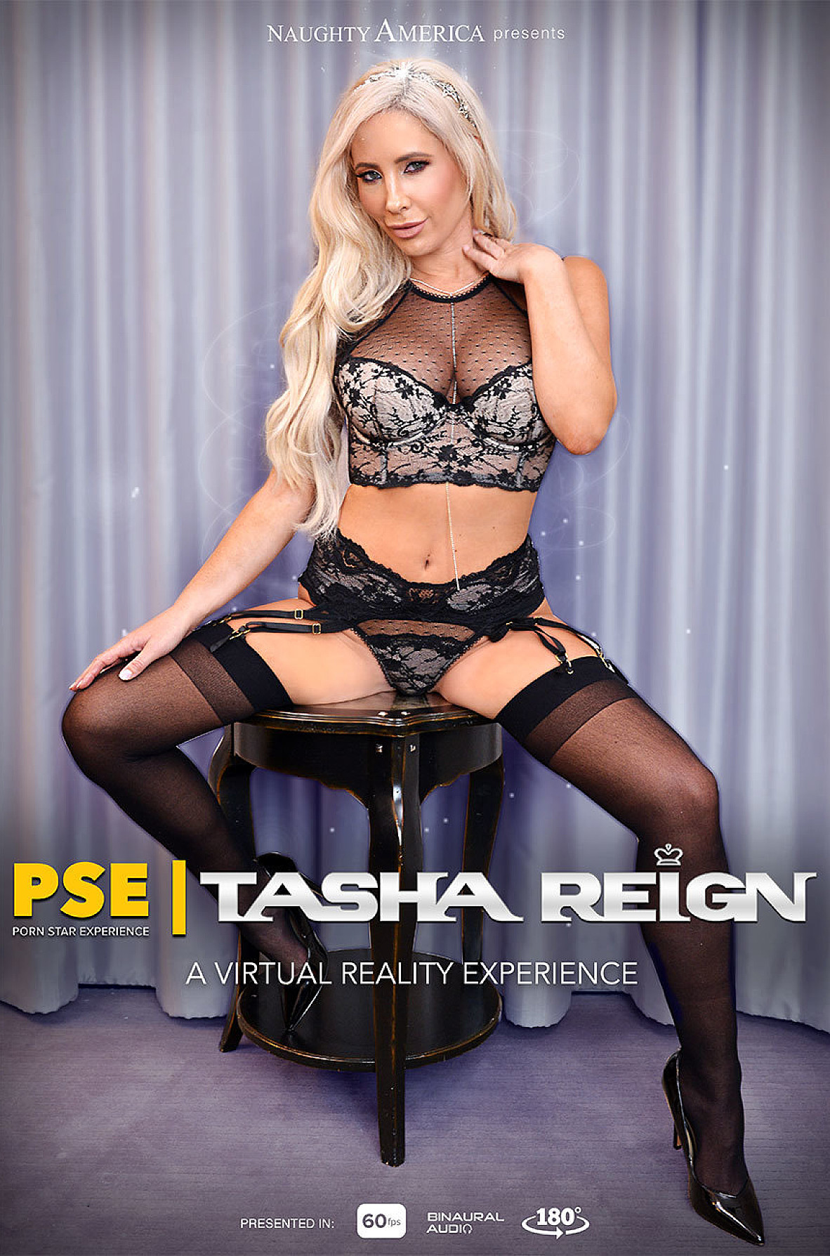 Watch Tasha Reign and Ryan Driller VR video in Naughty America