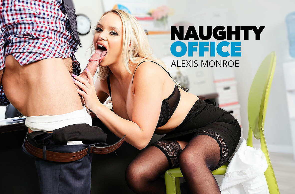 Watch Alexis Monroe and Johnny Castle 4K video in Naughty Office