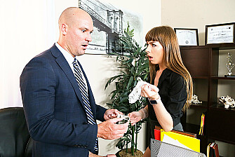 Alex Blake Gets Fucked In The Office - Sex Position 1