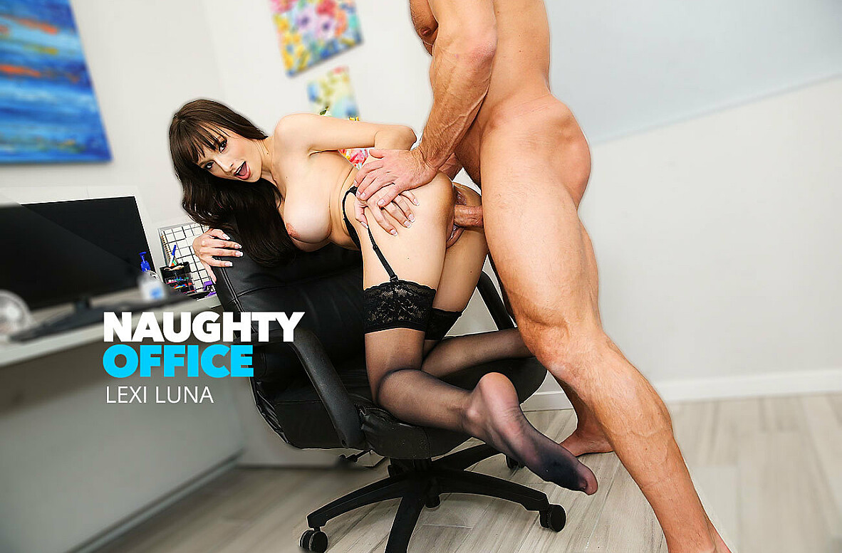 Watch Lexi Luna and Johnny Castle 4K video in Naughty Office