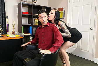 Marley Brinx gives her trophy salesman a first-place fuck - Sex Position 1