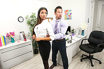 Nia Nacci Fucks Her Co-Worker - Sex Position 1