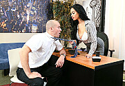 Victoria June & Sean Lawless in Naughty Office