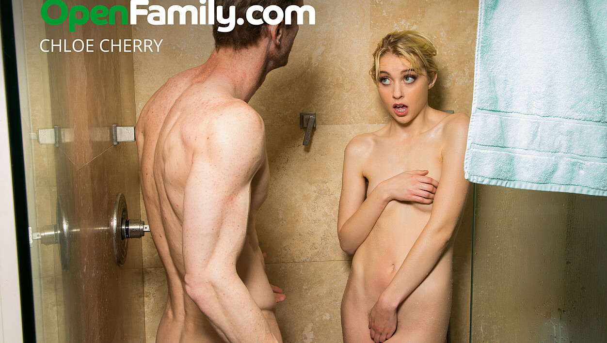 Chloe Cherry Finds Out What An Open Family Is All About