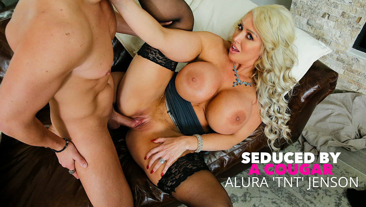 Alura 'TNT' Jenson fucks young dick