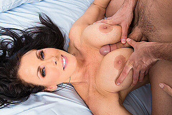 Reagan Foxx fucking in the bed with her piercings - Sex Position 3
