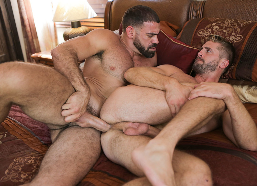 An awesome creampie with david ace and tristan mathews