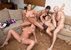 Chanel Preston, Hunter Bryce, Kortney Kane & Sadie Swede - Sex Position 2