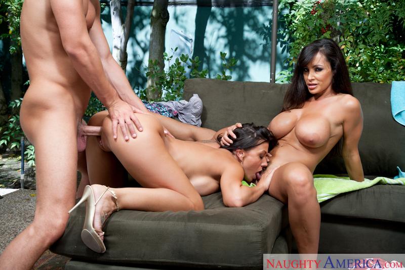 Lisa ann and rachel starr threesome