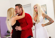 Tasha Reign & Lolly Ink & Johnny Castle in 2 Chicks Same Time