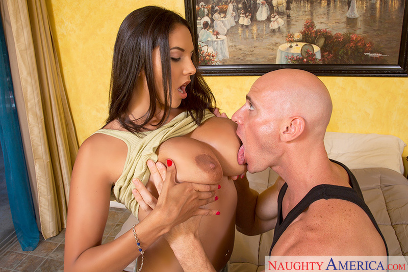 Missy Martinez fucking in the bed with her piercings - Sex Position 3
