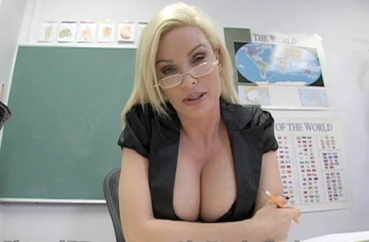 Watch Diamond Foxxx video in Live Naughty Teacher