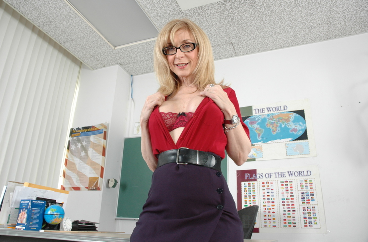 Watch Nina Hartley video in Live Naughty Teacher