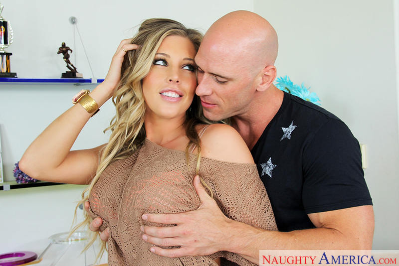 Samantha Saint fucking in the couch - Sex Position 2
