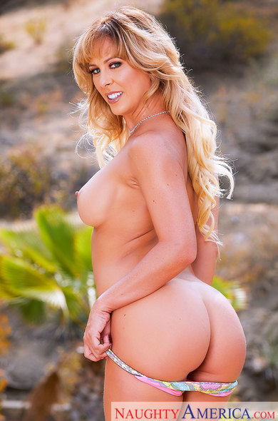 A MILF on a Hot Summer's Day: Cherie DeVille