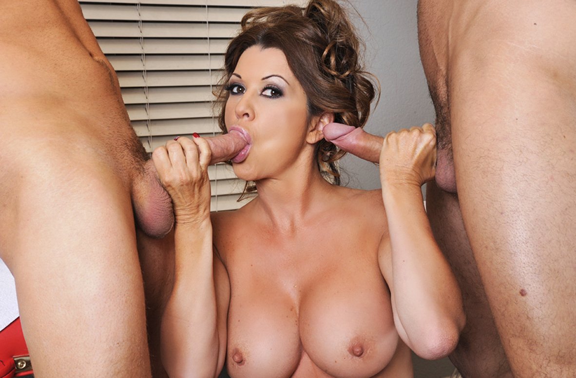 Watch Raquel DeVine, Danny Mountain and Van Wylde video in My Friend's Hot Mom