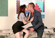 Adrenalynn & Danny Mountain in My First Sex Teacher